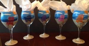 Adirondack Chair Wine Glass