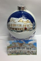 Hand Painted Christmas Ornament 2