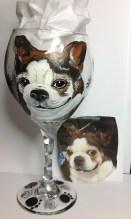 Pet Portrait Wine Glasses