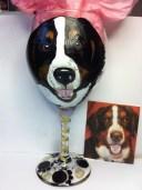 Pet Portrait Dog Glasses
