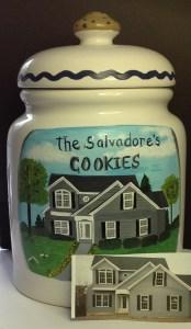 Custom House Cookie Jars