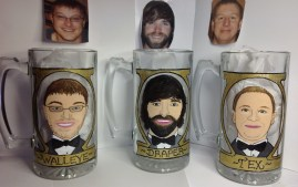 Custom Portrait Beer Mug
