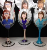 Mother of the Bride Mother of the Groom Custom glasses