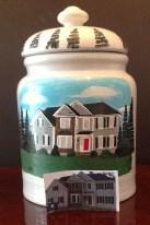 Personalized custom cookie jar