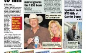 Alan Jackson shws off his custom painted beer mug from CUSTOM CREATIONS