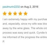 Hand Painted Glassware Testimonials