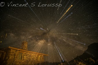 Shooting the stars and having some fun experimenting.