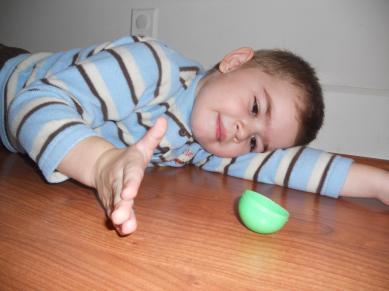 happy plastic egg