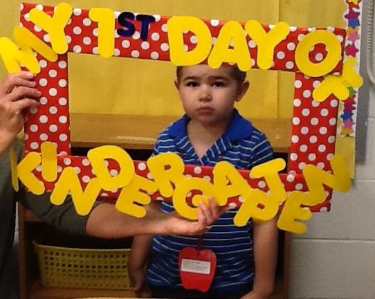 1st day of kinder