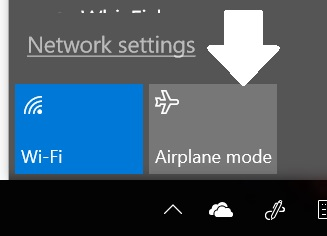Windows 10: easily disconnect from the Internet – Cyn Mackley