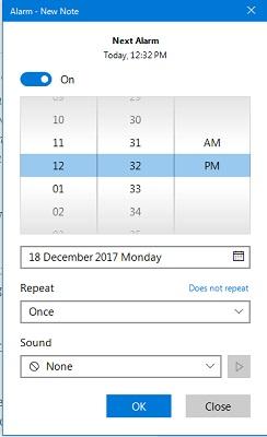 simple-sticky-alarm-set-time