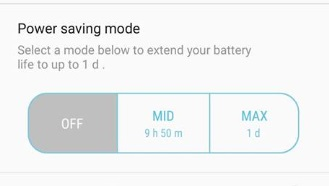 android-battery-modes