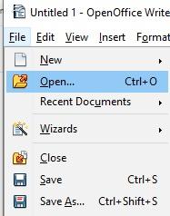 open-document