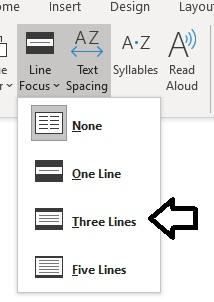 line-focus