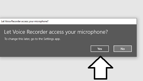 yes-to-recorder-app