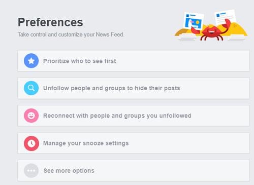 preferences-menu
