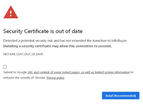 security-certificate