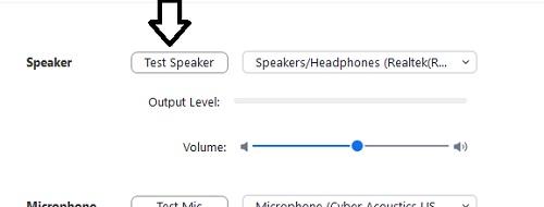 test-speaker