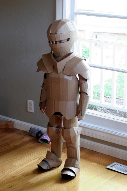 cardboar-armor