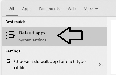 default-apps
