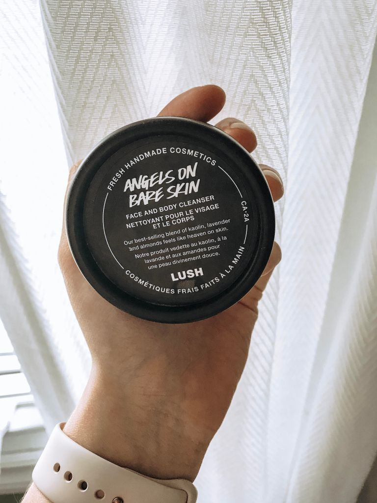 angels on bare skin. skin care. Lush handmade cosmetics skincare. monthly favourites round-up: April edition