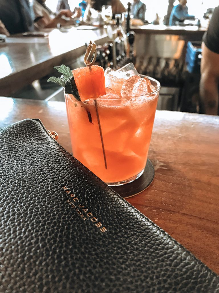 marc jacobs handbag. high end fasion. watermelon vodka beverage. joey restaurants. monthly favourites round-up: April edition
