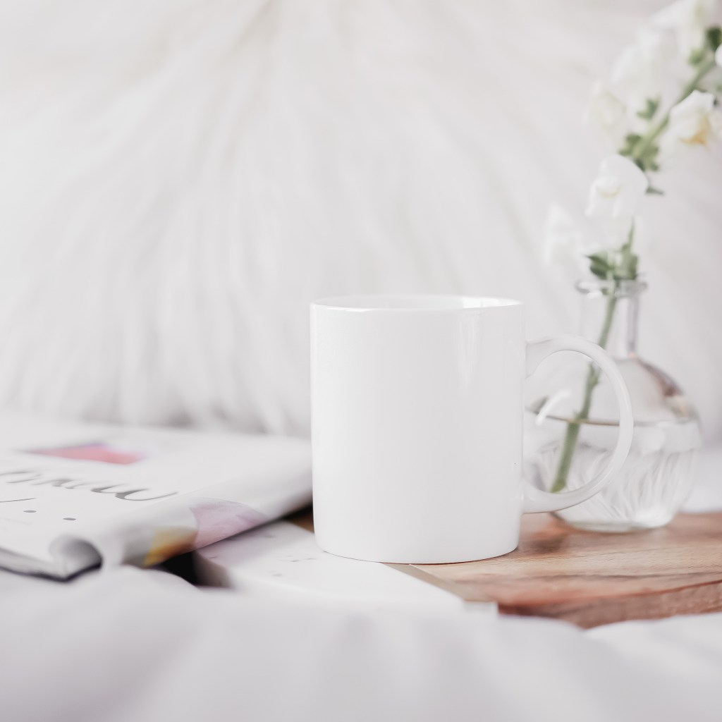 coffee cup, magazine, book. 5 Things You're Doing That Are Holding You Back