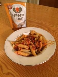 Hemp Hearts pasta