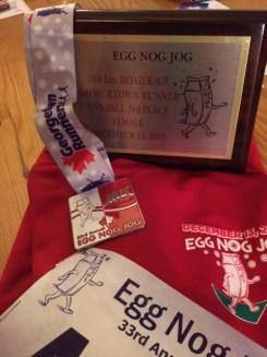 Eggnog Jog 2015 - awards