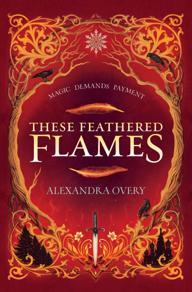 these feathered flames cover