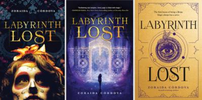 labyrinth lost by Zoraida Córdova