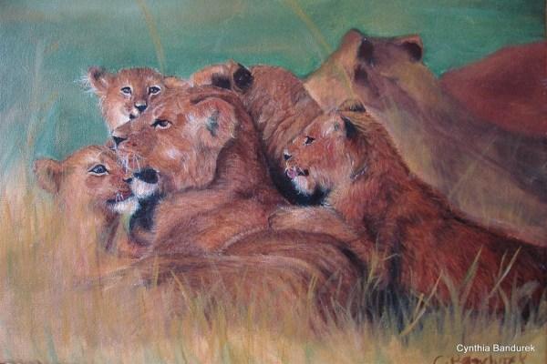 Oil painting - Cynthia Bandurek