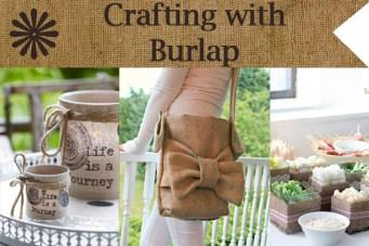 Five Amazing Burlap Crafts