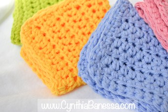 Beautiful Crochet Dish Towels