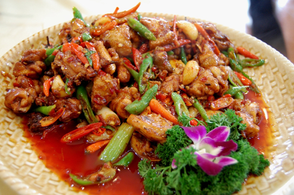 Hot and spicy chicken2