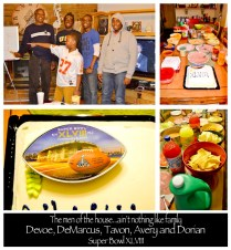 Family Super Bowl 2014 Party