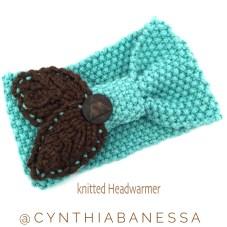 knitted headwarmer