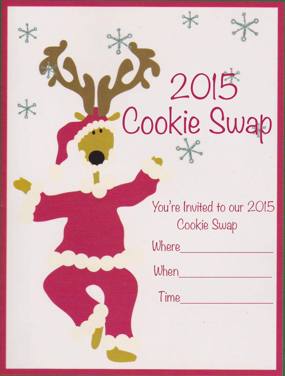 Cookie Swap Invitation 2