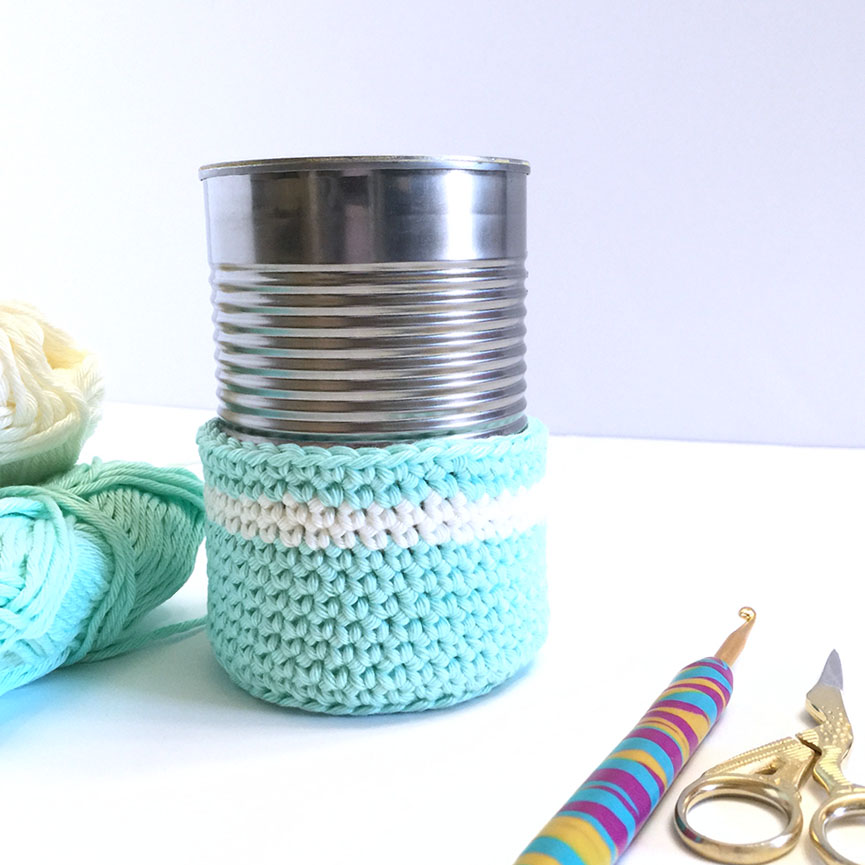 CREATE BEAUTIFUL PEN PENCIL CROCHET HOLDER
