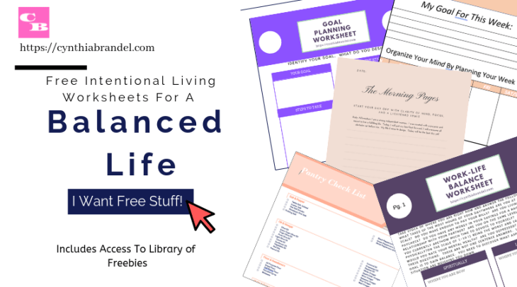 Work Life Falance Worksheets for Intentional Living | Self Development Made Easy | Find Balance In Your Life Today