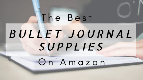 Bullet Journal Supplies on Amazon