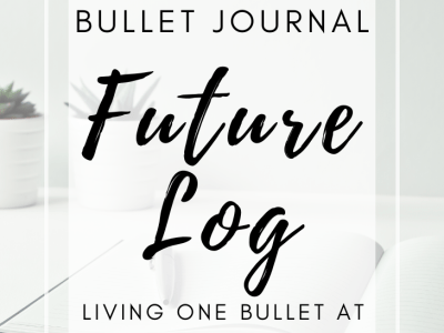 Bullet Journal Future Log Page