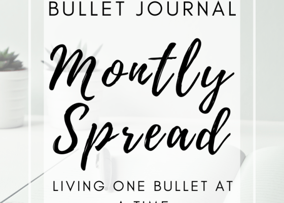 Bullet Journal Monthly Page