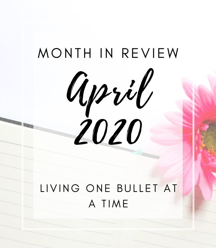 April Month End Review