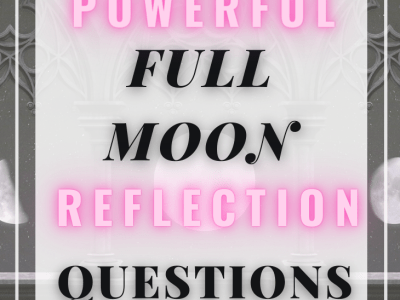 Moon Reflection Questions