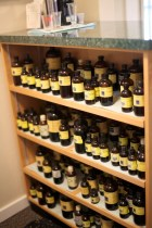 Homeopathic remedies can be accessed on-site immediately following a consultation with Dr. Cynthia Bye, ND, FABNO