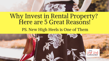 Cynthia DeLuca, The High Heels Landlord - 5 Great Reasons to Invest in Rental Property