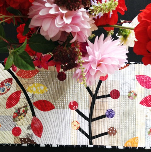 Autumn Table Runner, a free pattern for you from me!