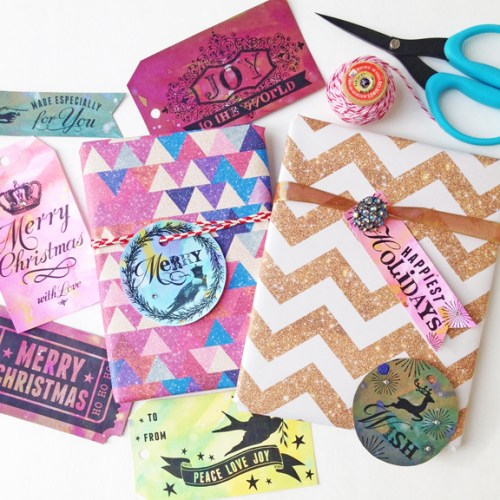 Fun Freebie: Happy Holidays Gift Tags