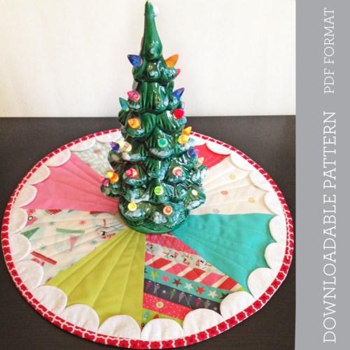 New in the Shop, Mini Tree Mat pattern